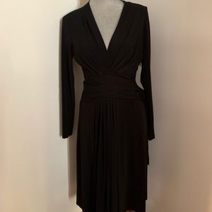 Michael Kors  Black Wrap Dress